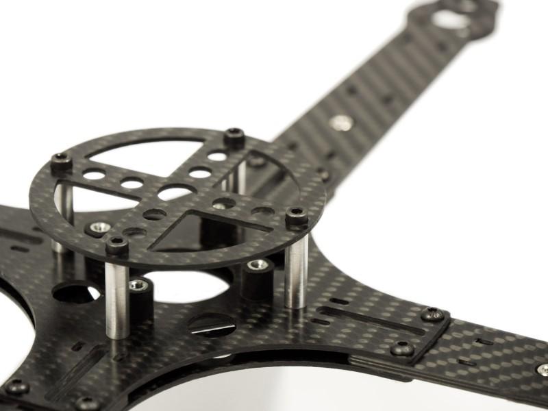 AF4-350-3D Center plate bottom MULTICOPTERS