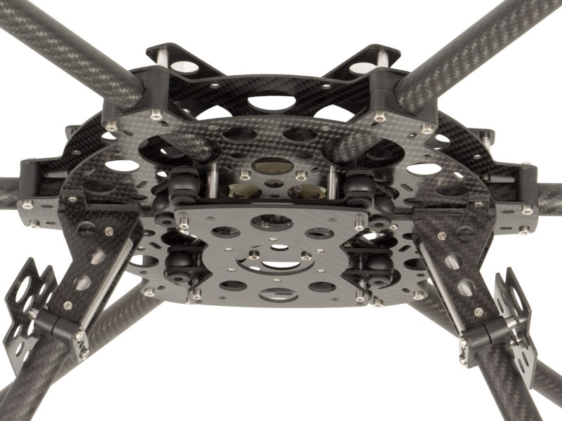 AF6-800 Gimbal mounting plate MULTICOPTERS