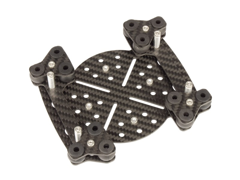 AF6-800 Universal mounting plate MULTICOPTERS