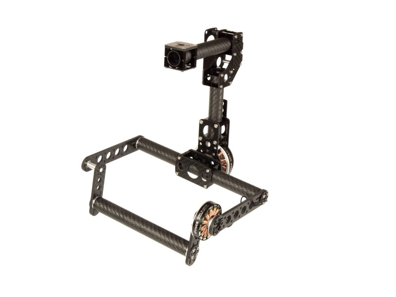 CM-M Gimbal 2-axes single pitch drive GIMBALS