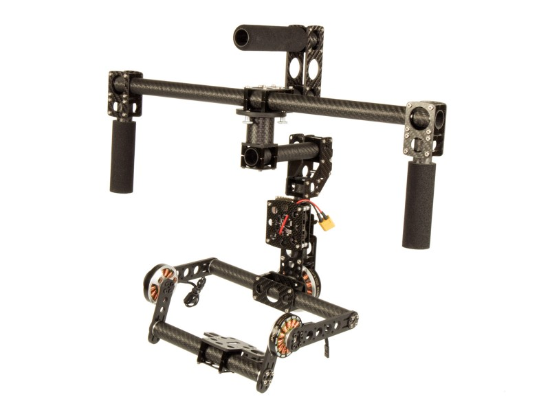 CM-M CameraMount 2-axes double pitch drive GIMBALS